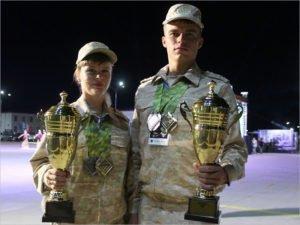 Супруги Малаховы из Брянской области стали бронзовыми призёрами Армейских игр