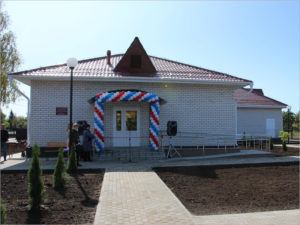 В Почепском районе открыт новый ФАП на 300 посещений