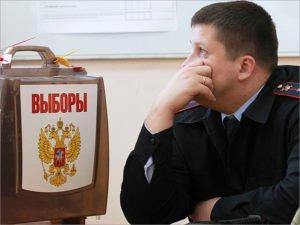 Безопасность выборов в Брянской области обеспечивают три тысячи полицейских
