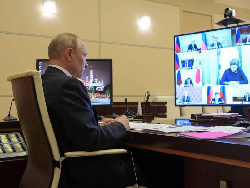 Звонок из Кремля в Брянск: Владимир Путин 24 сентября пообщается по видео с вновь избранными губернаторами