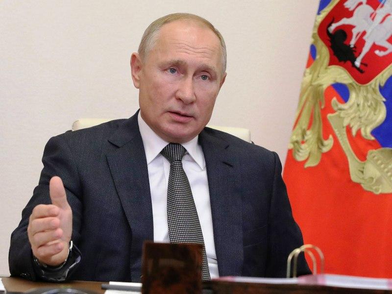 Владимир Путин дал избранным губернаторам поручения по борьбе с COVID-19