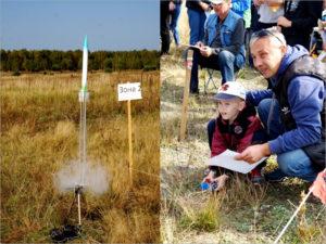 В Клинцах прошёл чемпионат среди юных ракетчиков