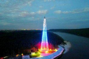 Шуховская башня на Оке обрела свой гимн – «Россети»