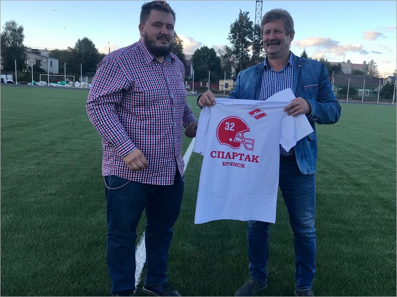Американский футбол в Брянске переходит под флаг «Спартака»