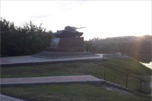 Нефтяники «Дружбы» выделили 4 млн. рублей на благоустройство памятника танкистам в Брянске