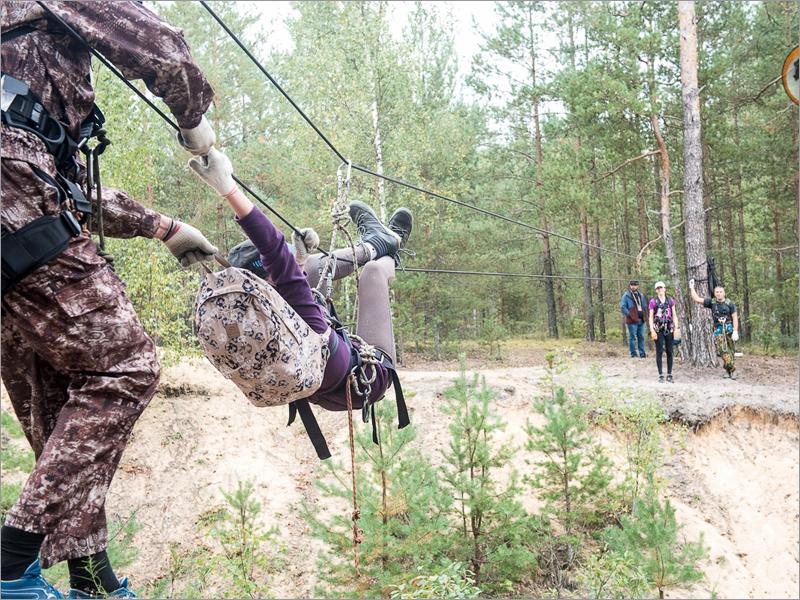 Первые посткоронавирусные туристские соревнования в Брянске выиграла «Комета»