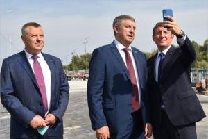 Привет с Литейного моста: вице-спикер СФ Андрей Турчак послал из Брянска селфи вице-премьеру Марату Хуснуллину