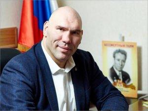 Николай Валуев: «Дворец единоборств в Брянске наверняка станет международной спортивной ареной»