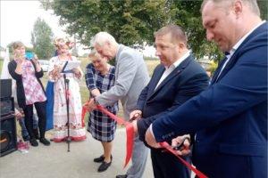 В Выгоничском районе торжественно открыт обновлённый Красносельский ДК