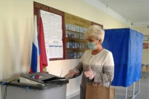 Явка на выборах губернатора Брянской области к 15.00 составила 43,32%