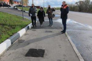 Дубровский водоканал исправит брянские тротуары на улице XXII съезда КПСС