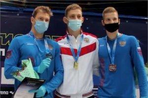 Брянский пловец Илья Бородин стал чемпионом и рекордсменом России