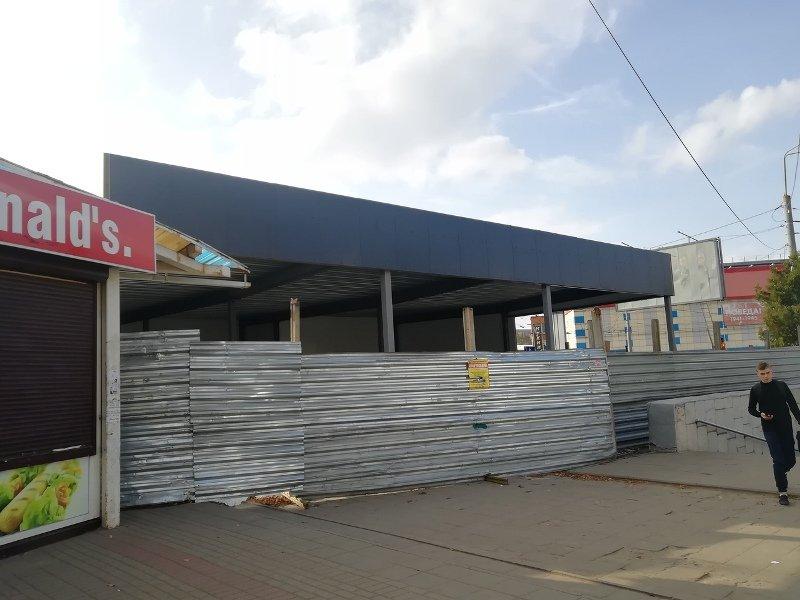 Началось строительство на «замороженном» участке в сквере Комсомольском. Горожанам не нравится