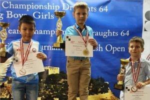 Второклассник из Жуковки стал чемпионом мира по шашкам