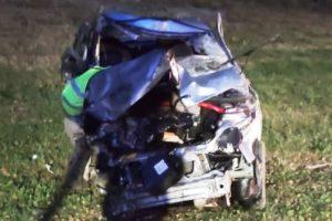 Пьяный водитель на трассе «Брянск-Орёл» разбился сам и едва не покалечил семью в другой машине