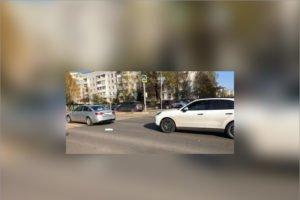 В центре Брянска произошло VIP-ДТП с пострадавшим