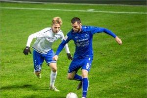 Брянское «Динамо» проиграло на своём поле калининградской «Балтике».