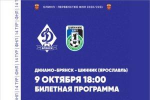 На матче «Динамо» и «Шинника» в Брянске разрешено заполнить стадион на четверть
