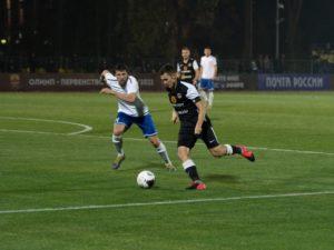 Брянское «Динамо» за полчаса крупно проиграло московскому «Торпедо»