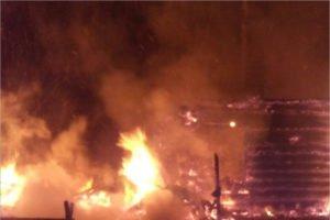 В ночном пожаре в рогнединской деревне сгорел 61-летний неостороржный курильщик