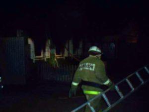 Под Карачевом ночью сгорел дом. Жертв нет