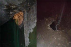 Обитатели полуразрушенного общежития под Брянском поделились кадрами начавшегося ремонта