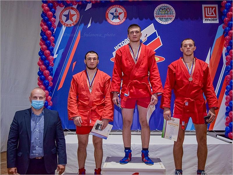 Брянский самбист занял первое место на Кубке России
