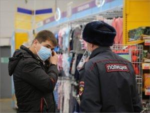 В Брянске на нарушении масочного режима попались продавец и покупатель