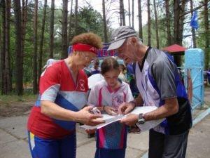 В окрестностях Брянска проходит «Эстафета поколений» по спортивному ориентированию