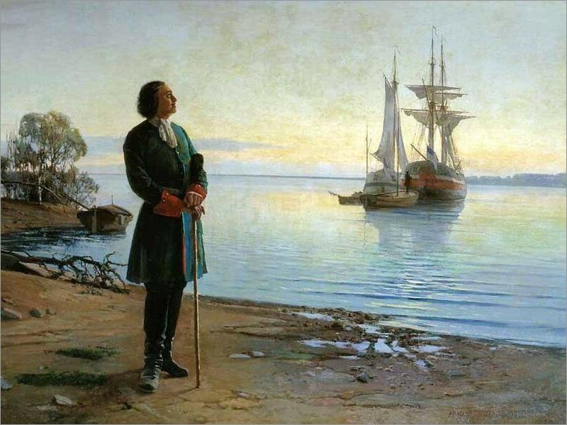 30 октября отмечается День основания Российского военно-морского флота