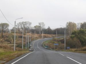 Новое освещение получили 30 км региональных дорог в восьми брянских муниципалитетах