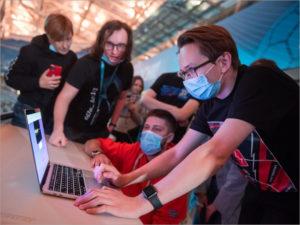 «Кибервызов»: студенты «Сириуса» отразили кибератаки на олимпийский стадион «Фишт»