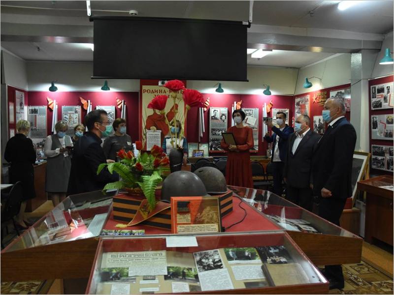 Брянский школьный музей стал лауреатом конкурса на лучший военный школьный музей