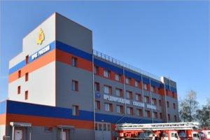 В Брянске специализированная пожарная часть переехала в новое здание