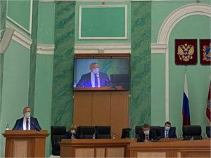 Валентин Суббот стал депутатом Брянской областной Думы. И возглавил её