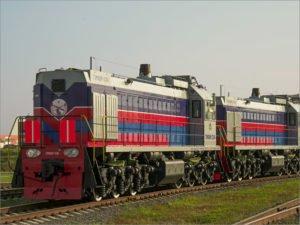 Два тепловоза производства БМЗ отправлены в Монголию