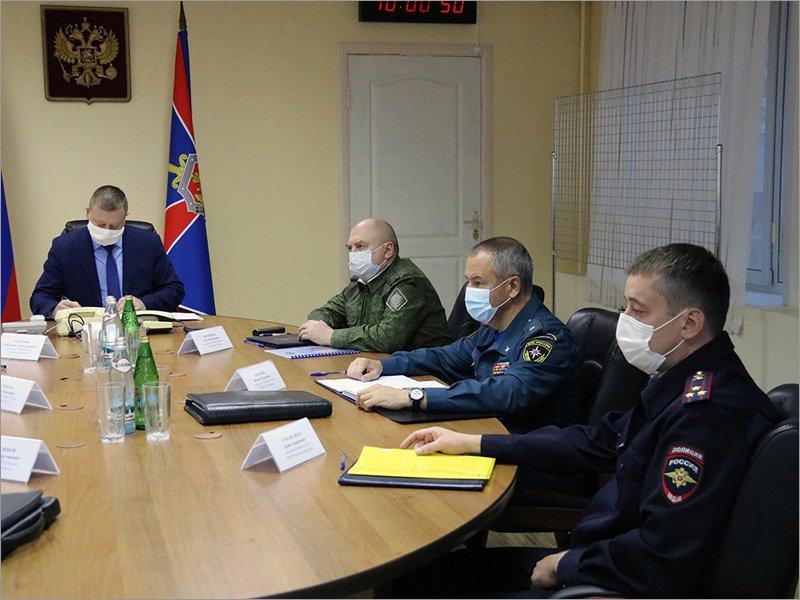 Условные террористы захватили «Брянск-Восточный». Их теоретически обезвредили