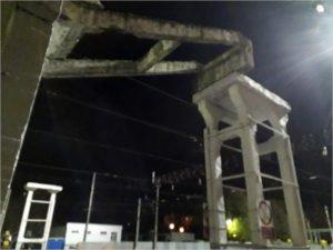 На «Брянске-Орловском» демонтируют остатки пешеходного моста