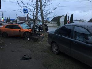 В аварии на перекрёстке в Клинцах тяжёлые травмы получили пять человек