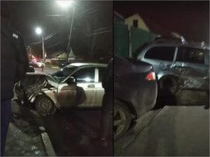 В Брянске три легковушки попали в «замес»: травмированы двое