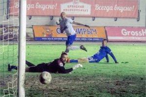 Брянское «Динамо» проиграло московским «детям» из «Чертаново»