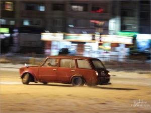 По первому снегу брянские гаишники отловили три десятка «дрифтеров»