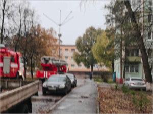 В Брянске утром горела квартира, ожоги получил хозяин жилища