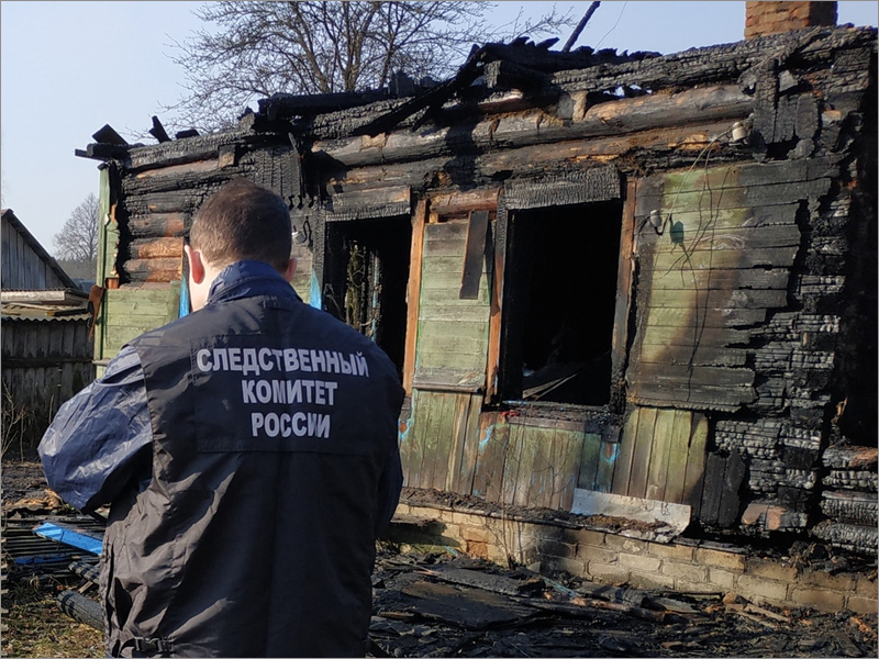 По факту гибели пожилых женщин в карачевском пожаре возбуждено уголовное дело