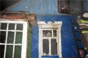 В деревне Глаженка под Брянском сгорел дом, получил ожоги пожилой мужчина