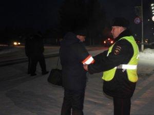 Брянская полиция за три дня вывела с проезжей части 50 «тёмных» и 80 пьяных пешеходов