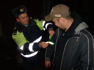 Брянская дорожная полиция три дня будет ловить «несветящихся» пешеходов-нарушителей