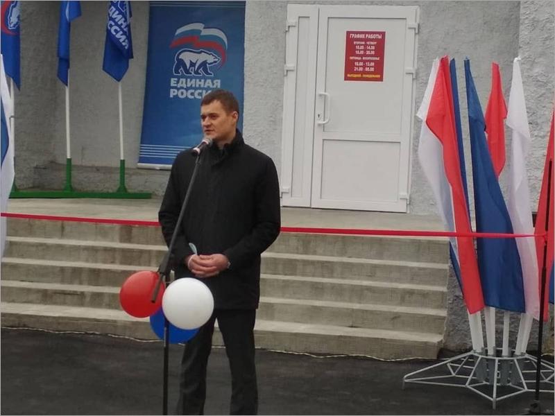 В Карачевском районе открыли после реконструкции Песоченский СДК