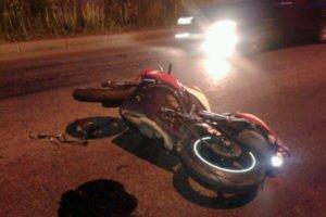 В июле в мото-ДТП на брянских дорогах погибли пять человек