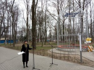 В Новозыбкове торжественно открыта «поющая» «Птичья клетка Бёме»